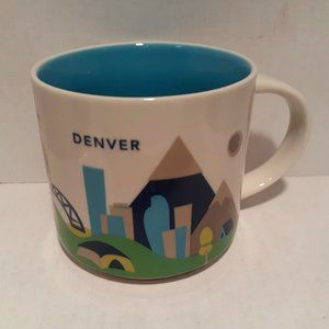 Starbucks 2014 You Are Here Mug - Denver